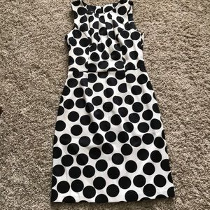Cut Polka Dot Dress Size 6